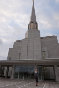 Preston LDS Temple Visit on P-day