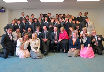 Everyone  having fun at the MTC on March 30, 2015