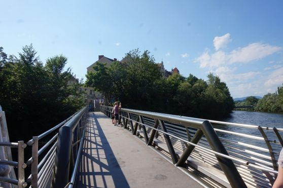 bridge over the River Mur