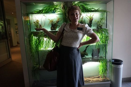 """From the Aquarium last week - """" And here we have"""""""