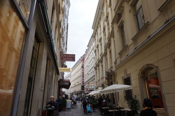 Little Street in Vienna