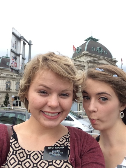 Sister Gardner and Sister Pratt in Vienna