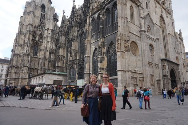 St Stephens Cathedral in Vienna, Austria.