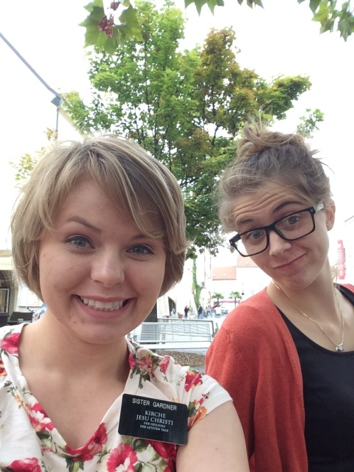Sister Gardner and Sister Pratt in Wiener Neustadt