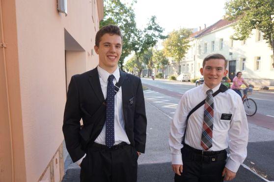 Wiener Neustadt Elders  Elder Call and Elder Chilcutt