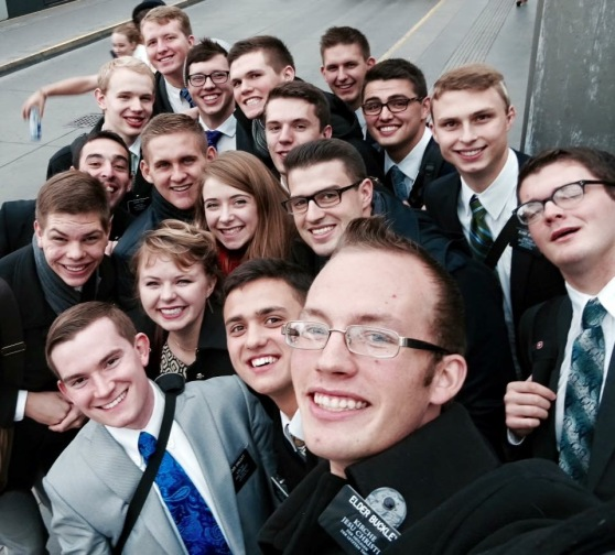 Wien Zone Selfie- taken after Zone Conference.