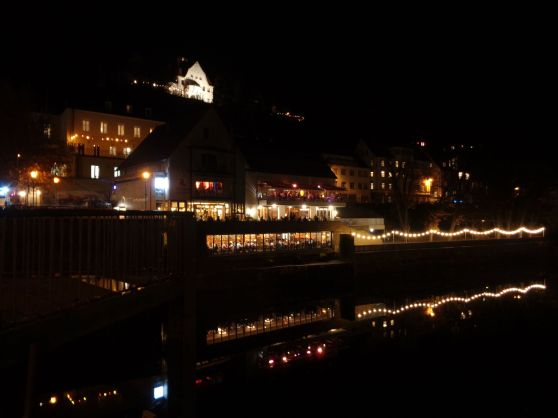 Tübingen at Night