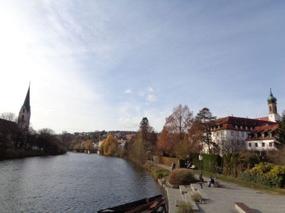 Tubingen river