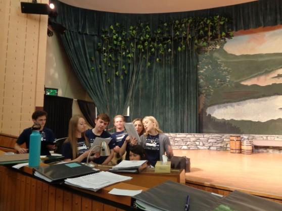 singing rehearsal